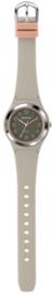 Sinar XB-48-5 analoog tiener horloge 36 mm 100 meter grijs/ roze