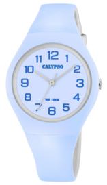Calypso K5777/2 analoog tiener horloge 34 mm 100 meter blauw