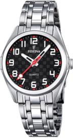 Festina F16903/3 tiener horloge 31 mm 50 meter zwart