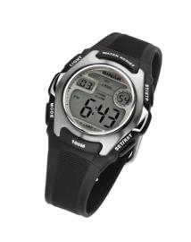 Sinar XE-50-1 digitaal tiener horloge 38 mm 100 meter zwart/ grijs