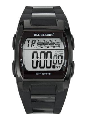All Blacks 680057 digitaal tiener horloge 37 mm 100 meter zwart