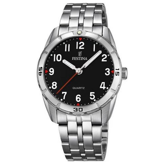 Festina F16907/3 tiener horloge 33 mm 50 meter zwart