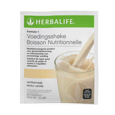 Herbalife Formula 1 Voedingsshake Vanille - 7 zakjes