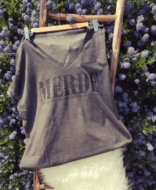 Dames T-Shirt MERDE