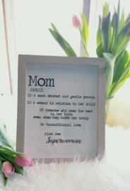 Fotolijst Mom