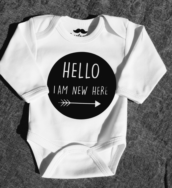 Rompertje ' Hello I am new here'.