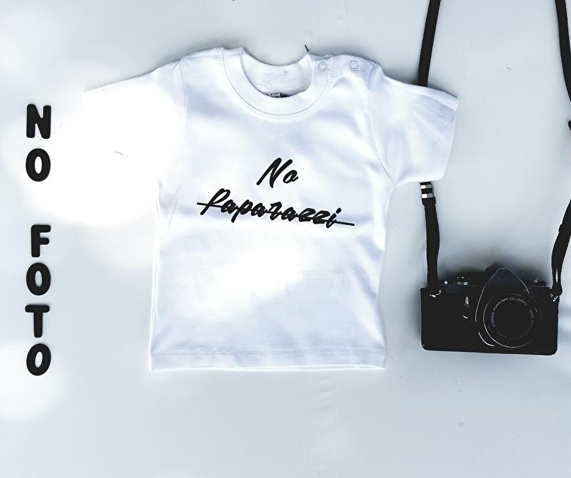 """T-shirt  """"No Paparazzi"""""""