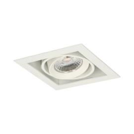 LED Square +Trim inbouwspot (gratis driver) - Wit