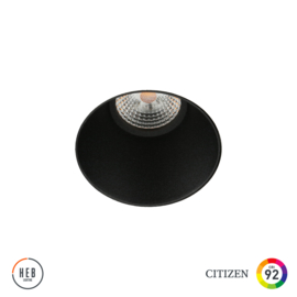Trimless Sphere zwart (gratis driver)