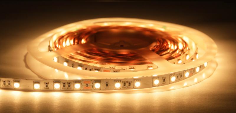 Premium LED strip 2700K (warm wit) - 5 mtr