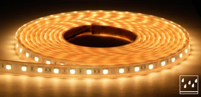 Premium LED strip waterdicht 2700K (warm wit) - per 10 cm
