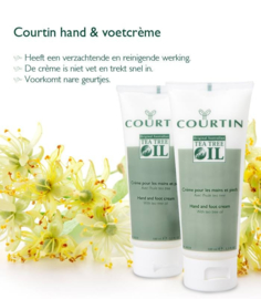 Courtin voetverzorgings producten tea tree olie
