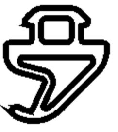 Schüco rubber 246381 - per m1