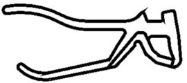 Schüco rubber 284839 - per m1   OP = OP