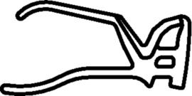 Schüco rubber 284840 - per m1
