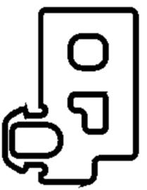Schüco rubber 224936 - per m1