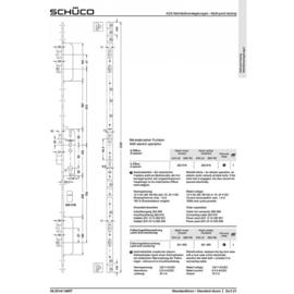 Schuco meerpuntslot Safematic - 211849