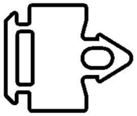 Schüco rubber 204795 - per m1