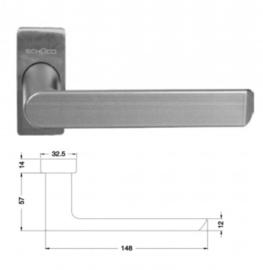 Schuco deurkruk - 240293 RVS