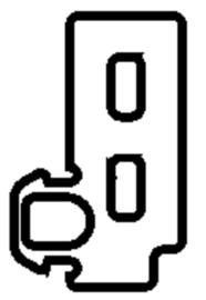 Schüco rubber 224935 - per m1