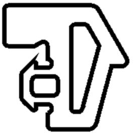 Schüco rubber 224452 - per m1
