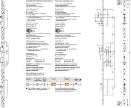 Schuco antipaniek meerpuntslot bi / bui kruk - 241773