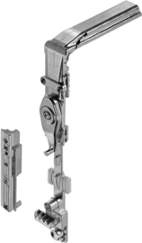 Schuco hoekverbinder LS  243203 /  RS 243204 met begrenzer