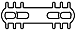 Schüco rubber 224115 - per m1