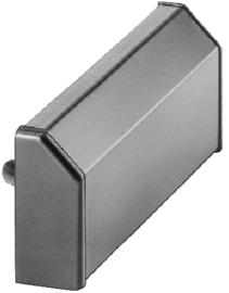 Schüco aluminium waterkapje - Wit 9010 217560 / Wit  9016 227734 / aluminium 217561 / brons 217562