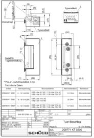 Schuco elektrische deuropener 239336