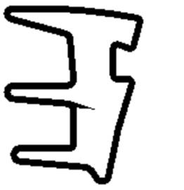 Schüco rubber 224264 - per m1