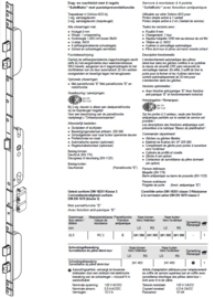Schuco antipaniek meerpuntslot Safematic bi greep / bui knop 241366 / 241365