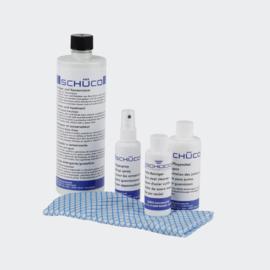Schuco schoonmaakmiddel set voor aluminium 298672