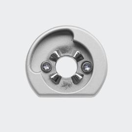 Schuco rozet - niet afsluitbare greep - kiep voor draai - SmartActive - variant: 269099 links / 269100 rechts