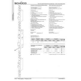 Schuco antipaniek meerpuntslot - 211641