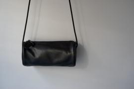 cilinder tas - black