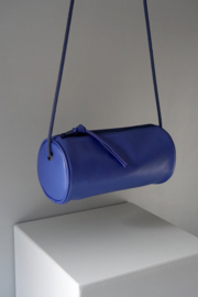 CYLINDER - deep blue leather