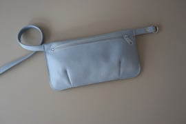 HIP POUCH - sky leather