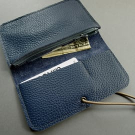 KNOT wallet - blue