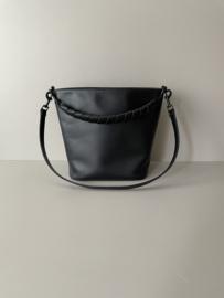 BUCKET bag & BRIDLE handle - black