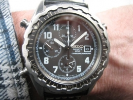 Seiko duiker nieuw chronograph alarm item