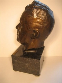 Brons uniek Sculptuur, Broer van Evert Mol Kunstschilder