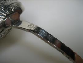 Theezeefje van Gero 90 Oud Hollandsch verzilverd 1937/1958