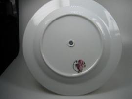 Etagére Porselein in twee lagen met bloemmotief