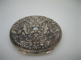 Antieke Zilveren Poederdoos ca.1895