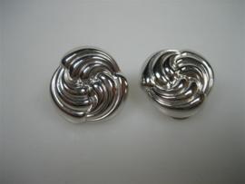 Wit Gouden 14krt. oorbellen-oorstekers Clips Nieuw