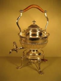 Zilveren Thee-Koffie Bouilloire uit ca.1960