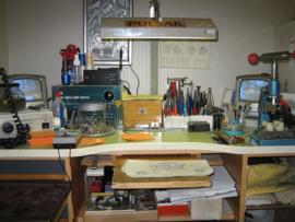 Een klein gedeelte van ons goud en zilver atelier