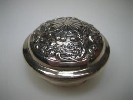 Zilveren Flessendop van een Kristalkaraf ca.1941