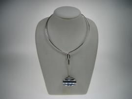 Zilveren Spang met Hanger uit Denemarken